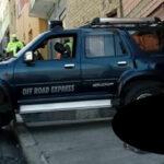 Fallece una joven mujer atropellada en la calle Alcoreza de La Paz