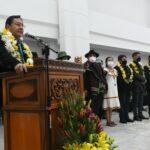 Arce en la inauguración del nuevo edificio de la ALP: Aquí no habrá lugar para los «vende patrias»